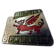 BUTLINS Pwllheli 1966 Welsh Dragon Camp Badge