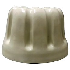 Large Victorian Ceramic Jelly Mold