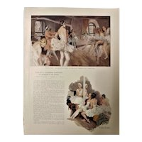 French Ballet Academy Six Page Special Feature - L'Illustration Magazine 1937