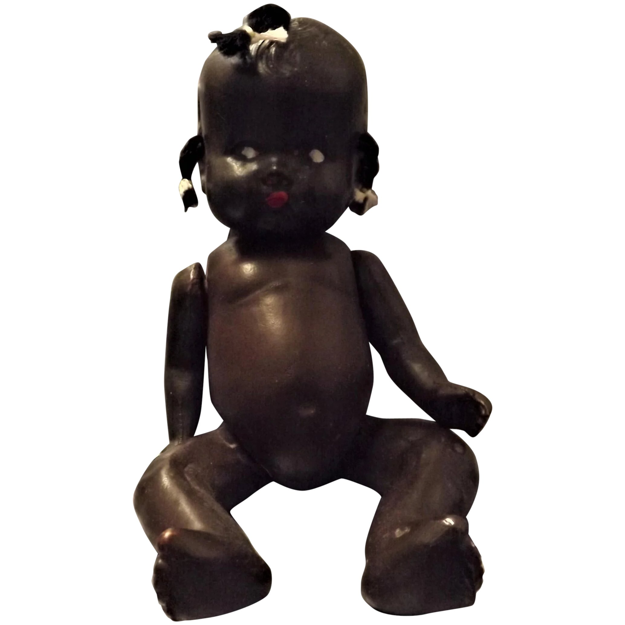 A Pickaninny Topsy Doll - by Reliable Dolls Canada Circa 1940
