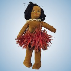 Norah Wellings 1930's Pacific Hula Girl Doll