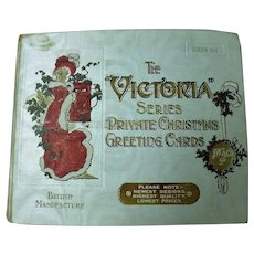 "The ""VICTORIA"" Series Private Christmas Greeting Cards - Season 1913"