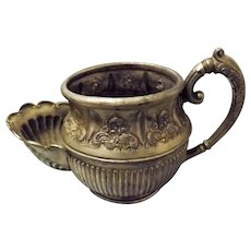 A Philip Ashberry & Sons Shaving Mug late 1800's