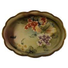 Japanese Porcelain Bowl  - I.E. & C. Mark Circa 1900-1910