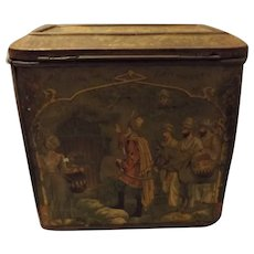 Large Moss Rimmington Mustard Tin - Circa 1880-1900