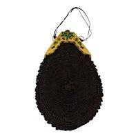 Victorian Hand Crocheted Purse