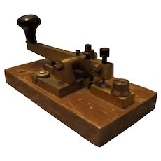 English Morse Code Signal Key