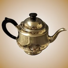 Art Deco Sterling Silver Teapot - Birmingham 1938