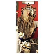"Superb Ladies Luxurious ""Crystal Fox Fur"" Jacket"