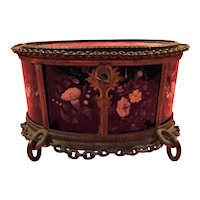 Superb Late 19th Century French Napoleon III Style Jewel Casket