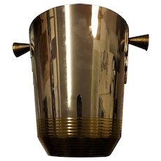 Sublime Art Deco Champagne Bucket - France 1930's