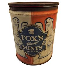 FOX'S Glacier Mints Tin