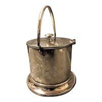 Scottish Silver Tea Caddy - Hamilton & Inches - Edinburgh 1911