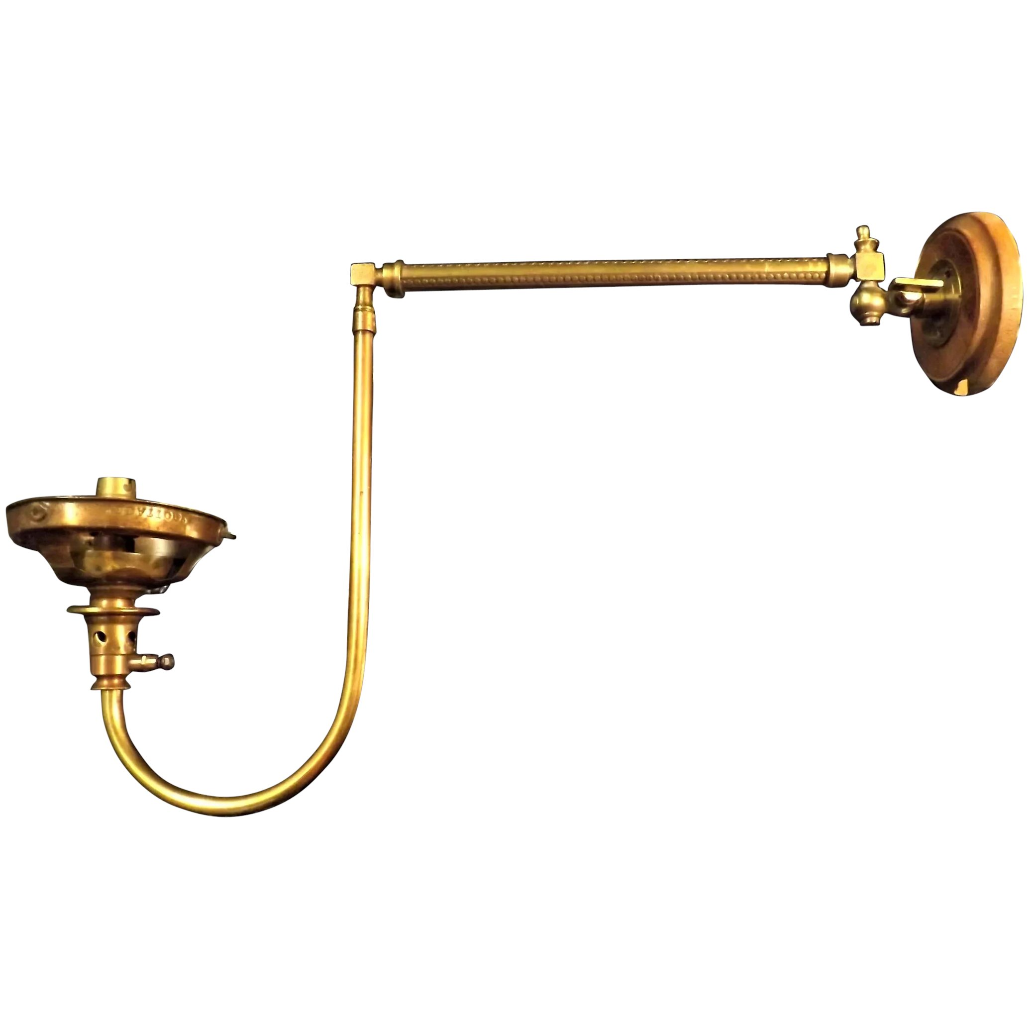 Victorian Gas Lamp Wall Bracket /Sconce