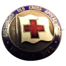 Australian Red Cross Appeal 1918 - Badge Victorian Division