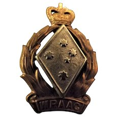Womens Australian Army Corps Badge