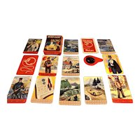 Pepys Secret Agent Playing Cards Circa 1957