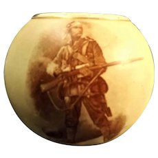 A MacIntyre, Burslem ceramic Boer War era match striker.