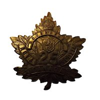 Canada World War One Army Badge - Nova Scotia 25th Overseas Battalion