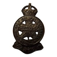 Canada World War One Collar Badge - Royal Montreal Regiment