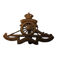 Canada World War One Army Badge - Artillery