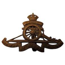 Canada World War One Army Badge - Artillery