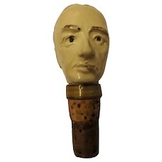 Winston Churchill Bottle Stopper