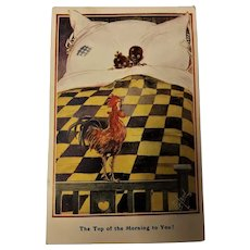 "Black Americana  Card ""The  Top of The Morning To You"""