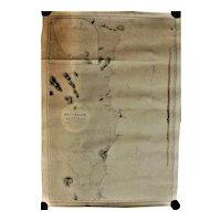 Australian Antique Nautical Chart - 1865