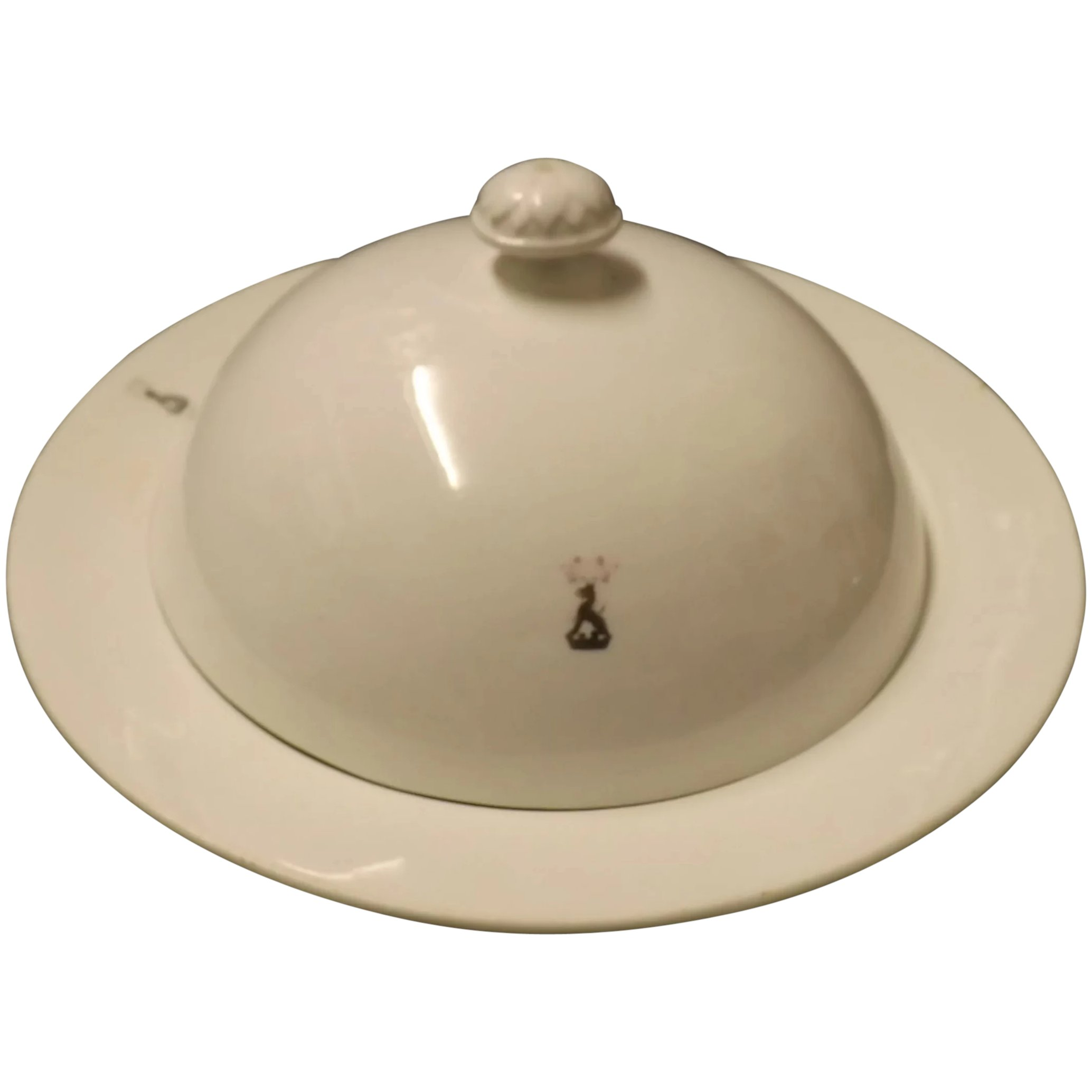 SEVRES Lidded Serving Dish or Tureen With Amorial - 1766