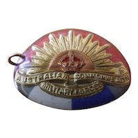 Australian Commonwealth Military Forces Sweetheart Badge