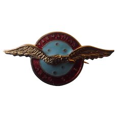 "Tasmanian Aero Club ""WINGS"" Badge"
