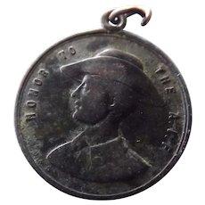 Australian Commemorative ANZAC Day 1918 Medallion