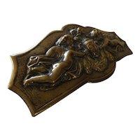 "Gorgeous Victorian ""Cherubins"" Bronze Escutcheon"
