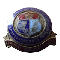 NZ Education Dept. Correspondence School Badge