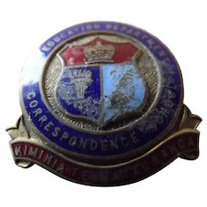 NZ Education Dept. Correspondence School Badge