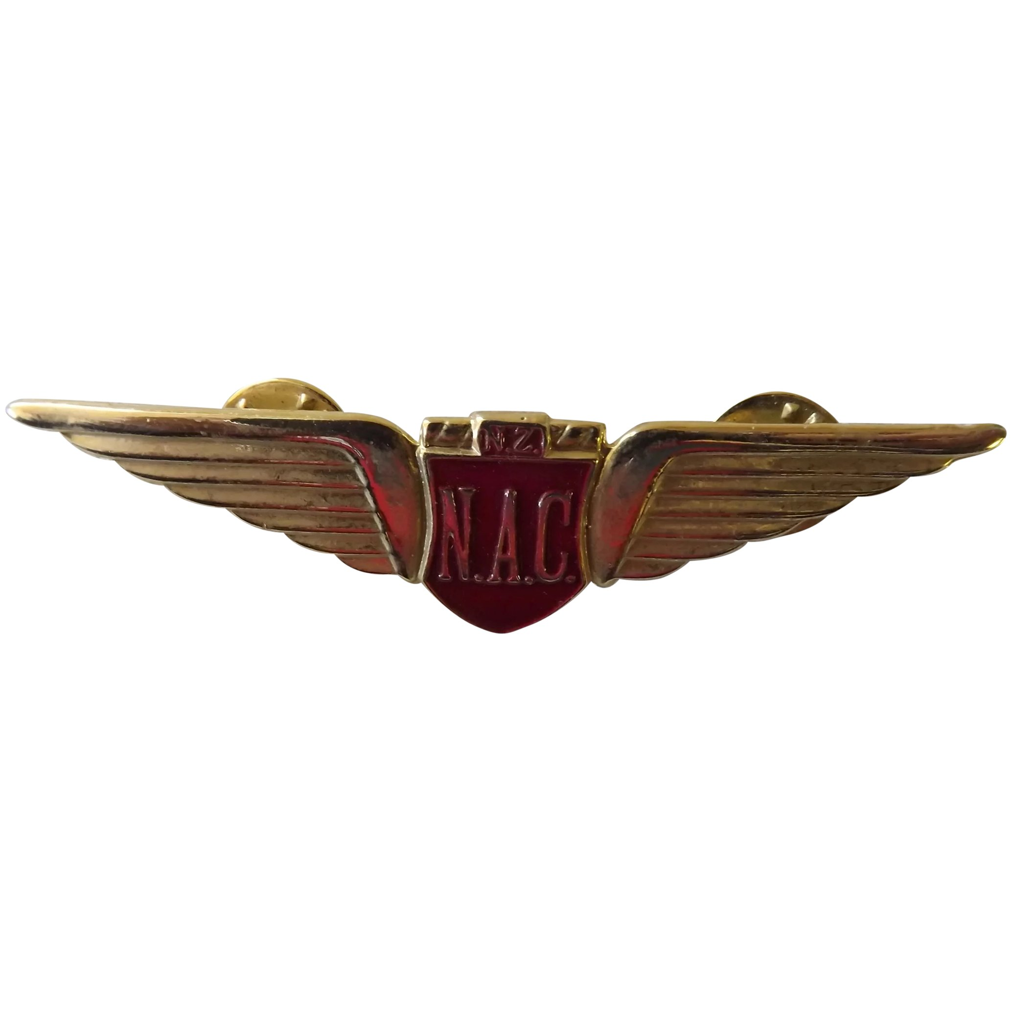 National Airways Corporation (N.A.C) of New Zealand Pilots Wings
