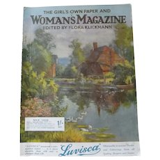 The Girls Own Paper & Woman's Magazine - Great Britain May 1926