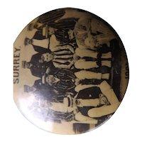 RARE Merchants Portrait Co London - SURREY Cricket Eleven Badge - 1901