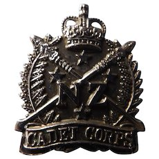 New Zealand Military Cadet Corps Badge - Circa 1950-60