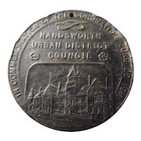 King George V 1902 Coronation Commemorative Medal
