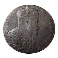 Silver Coronation Medal Coronation Kind Edward VII 1902