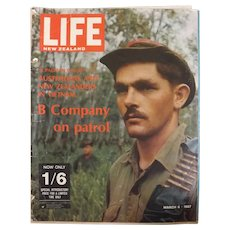 LIFE Magazine March 6th 1967- Australians & New Zealanders In Vietnam