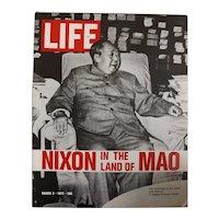 "LIFE Magazine March 3rd 1972 - ""Chairman MAO"""