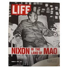 "LIFE Magazine March 3rd 1972 - ""Chairman MAO"""