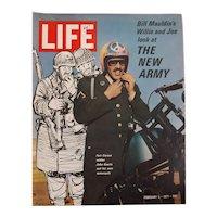 "LIFE Magazine Feb. 5th 1971 "" The New Army"""