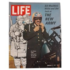 "LIFE Magazine Feb. 5th 1971 "" The New Army"""
