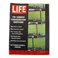 """LIFE Magazine Oct. 19th 1964 -""""The Kennedy Case"""""""