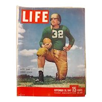 LIFE Magazine Sept. 29th 1947 - BIG 80 Page Issue