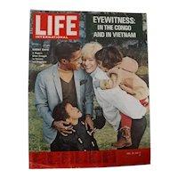 """LIFE Magazine  Dec. 24th 1964 """" Alert In Vietnam"""""""